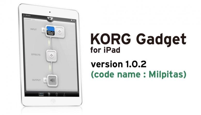 KORG Gadget for iPad 1.0.2