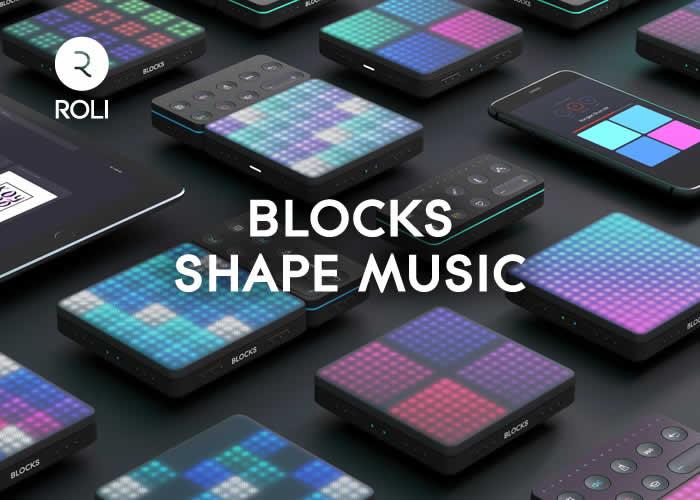 ROLI : 新しい音楽体験を提供するROLI BLOCKSが遂に一般販売