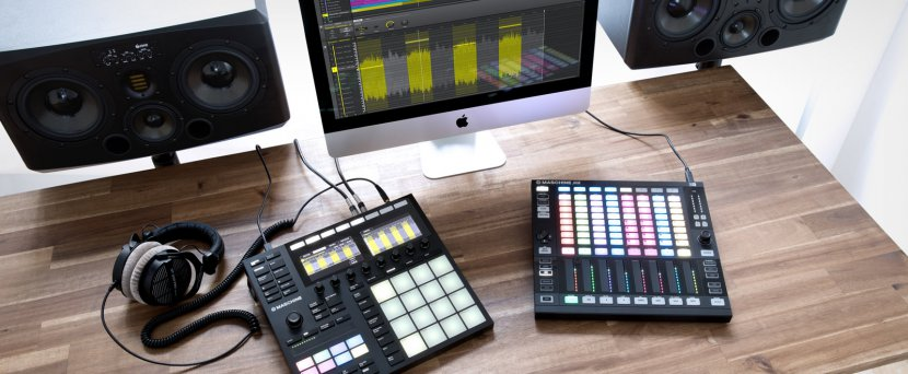 MASCHINE 2.7 WITH AUDIO PLUG-IN