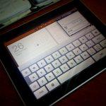 iPad 触った♥