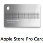 Apple Store Pro Card がアイコンに