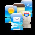 iPod touch 1月のアップグレード(Mail)