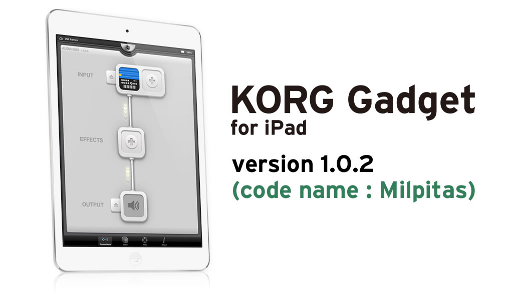 KORG Gadget for iPad 1.0.2