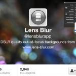Lens Blur:Mac でボケ写真、プロフィールやプレゼン用のバックグラウンドも