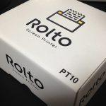 ロルト:iPhone 専用のスクリーンプリンターを買ってみた
