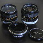オールドレンズ: CANON FD 28mm F3.5 S.C.