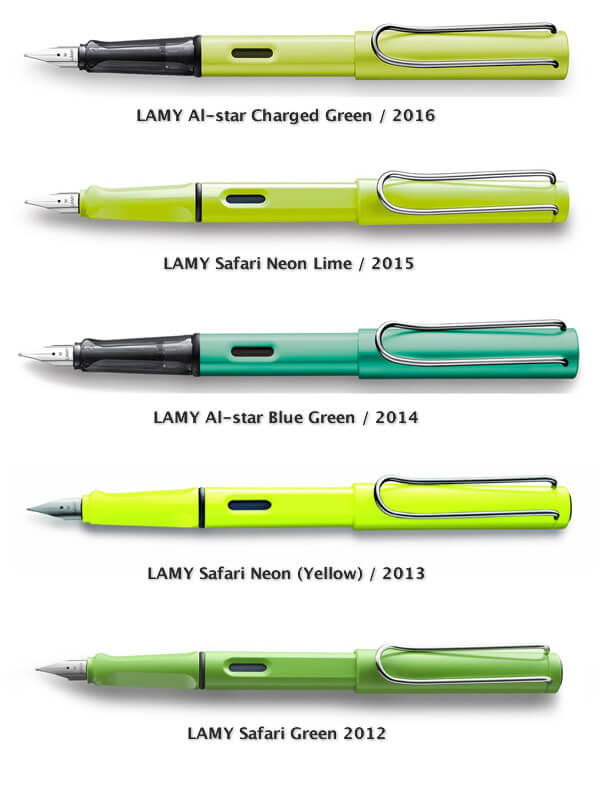 LAMY Green Models