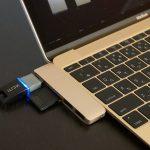 Satechi 12MacBook Type-C USB3.1 3in1:MacBook にフィットする SDカードリーダー付きアダプター