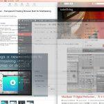 Fluid Browser:狭い画面でもブラウザのウィンドウを透過させて「効率的・ながらブラウジング」