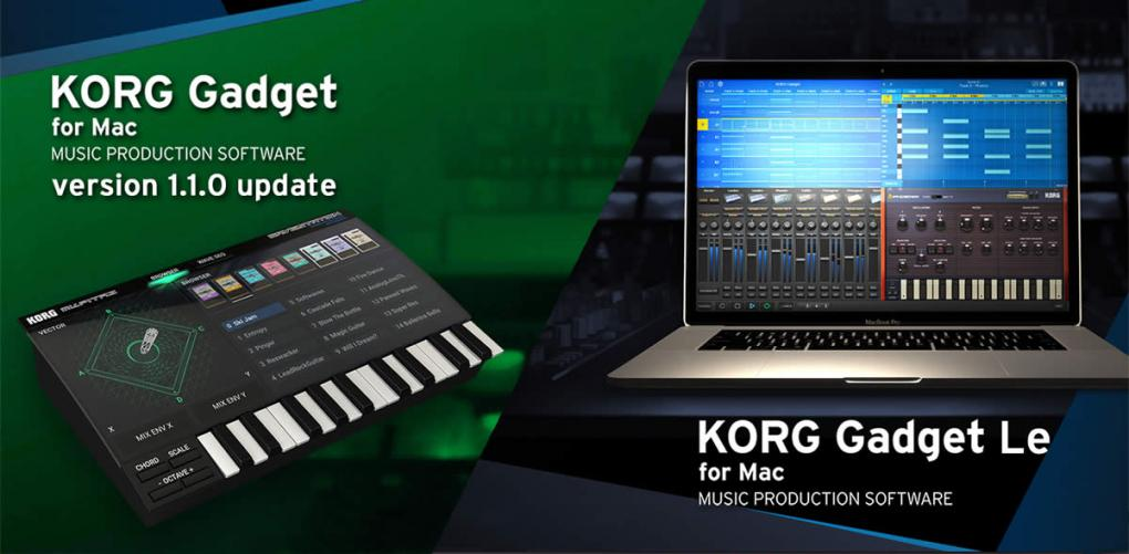 KORG Gadget for mac 110