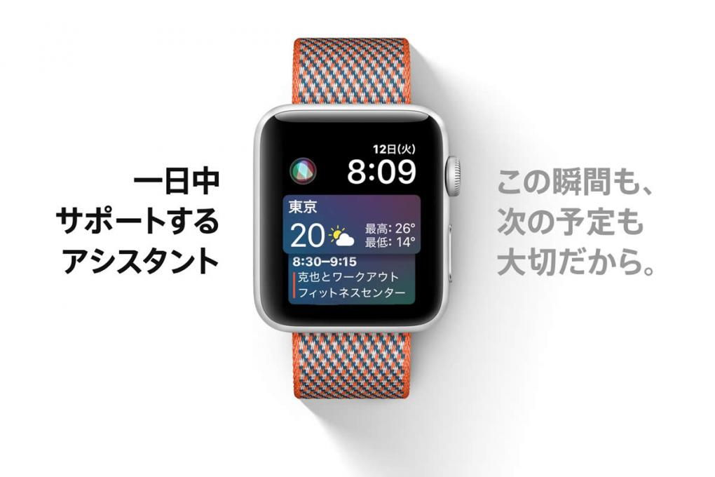 Apple Watch SIri の文字盤