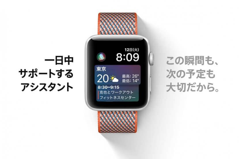 Apple Watch SIri の文字盤