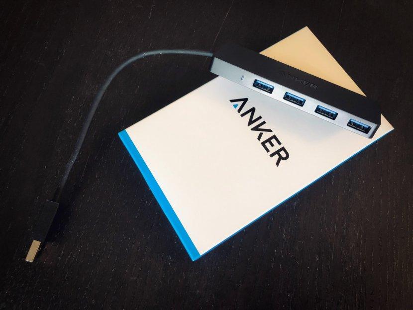 Anker USB3.0 ウルトラスリム 4ポートハブ USB3.0