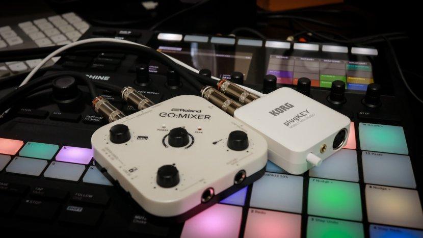 Roland GO:MIXER & KORG plugKEY