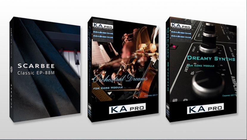 Scarbee、KApro 3つのサウンド・ライブラリー