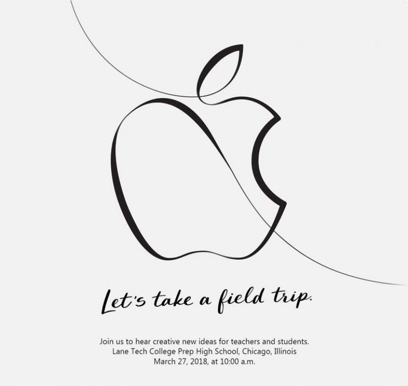2018 Apple Let's take a field trip
