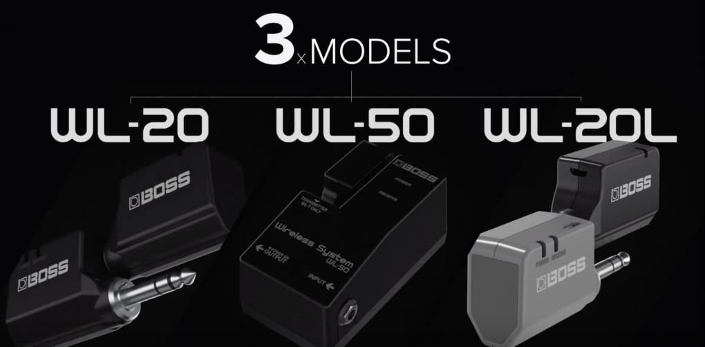 WL-20/20L - ギターやベースに最適、ローランド BOSS から小型のワイヤレス・システム登場