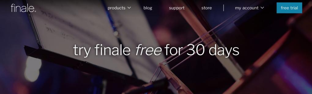 try finale free for 30 days