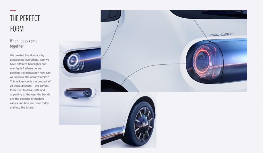Honda e Design