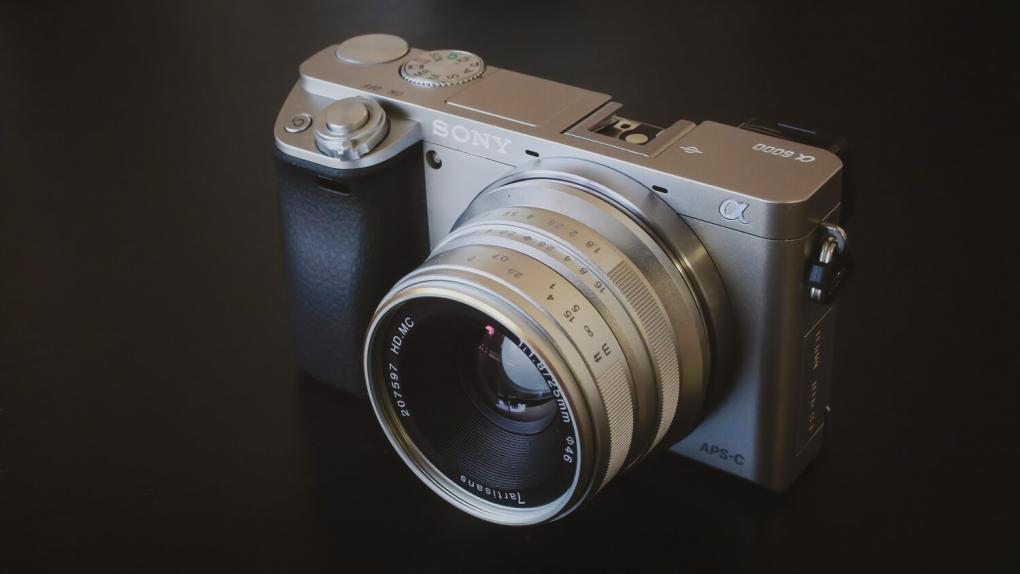 7artisans 25mm F1.8 + SONY α6000