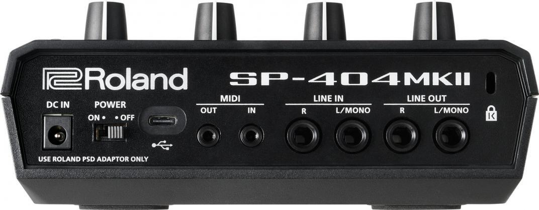Roland SP-404mk2 リア